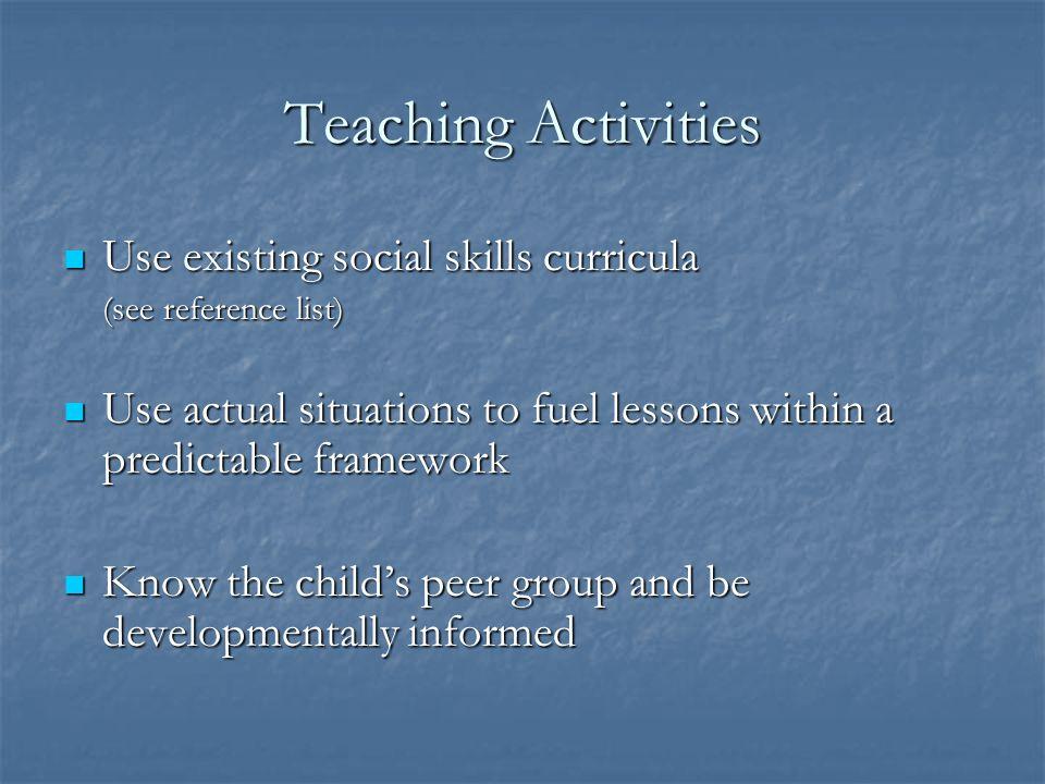 Planning (cont). Alternate tasks by difficulty, activity level Alternate tasks by difficulty, activity level Teach using multiple modalities Teach usi