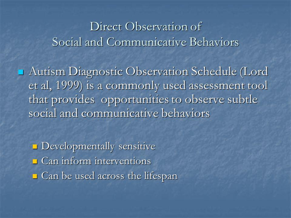 Parent/Caregiver Questionnaires about Social and Communicative Development Social Communication Questionnaire: ages 4+ Social Communication Questionna