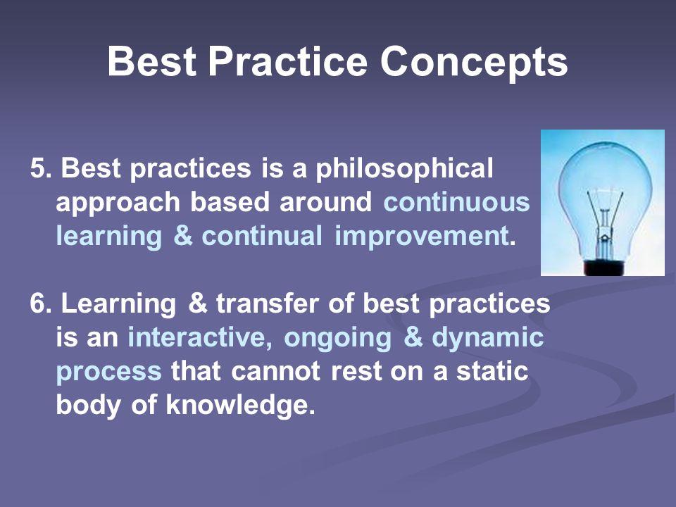 Best Practice Concepts 5.