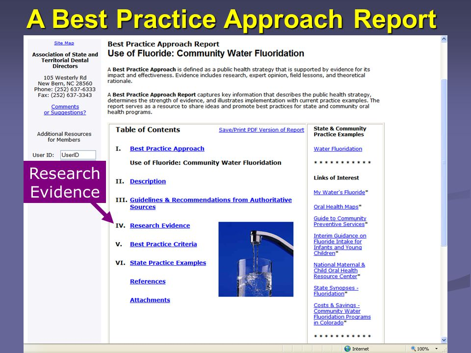 A Best Practice Approach Report Research Evidence