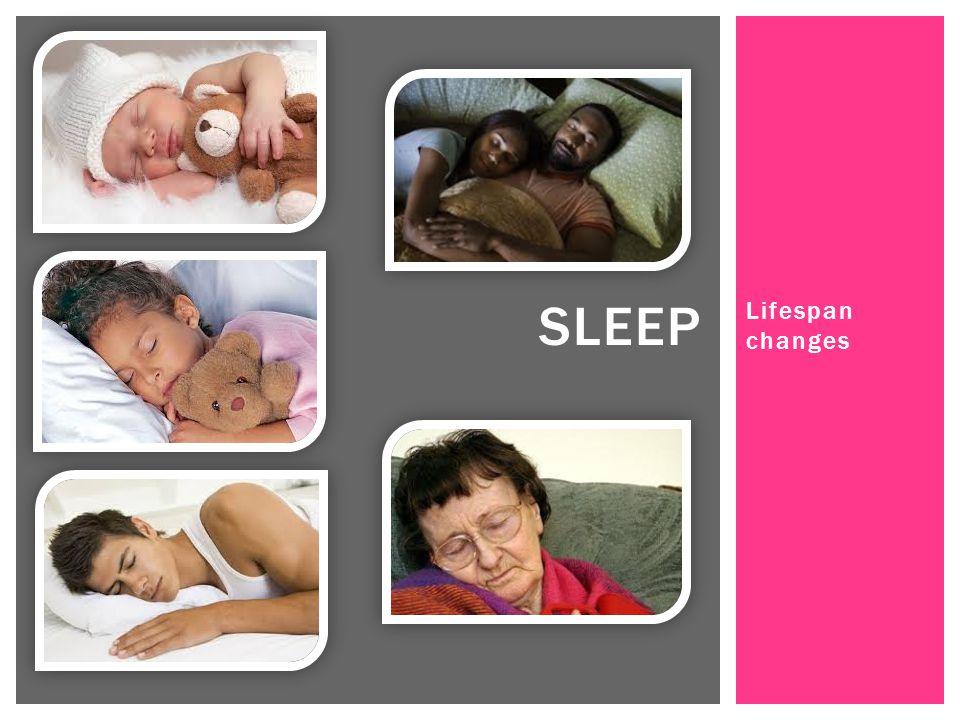 Lifespan changes SLEEP