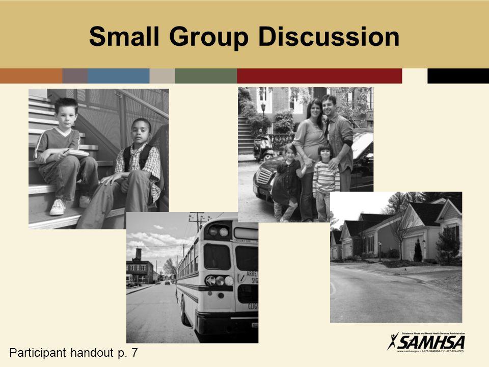12 Small Group Discussion Participant handout p. 7