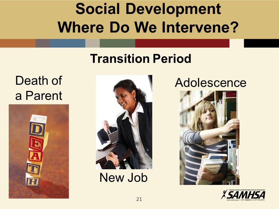 21 Social Development Where Do We Intervene.