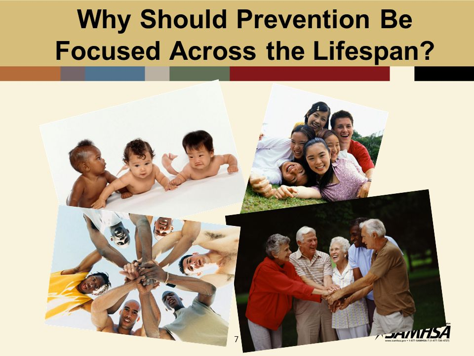 Continuum of Care: A Guide to Prevention Across the Lifespan Case Identification Standard Treatment Long-term Treatment After-care and Rehabilitation Indicated Selective Universal Promotion Prevention Promotion Treatment Maintenance Promotion
