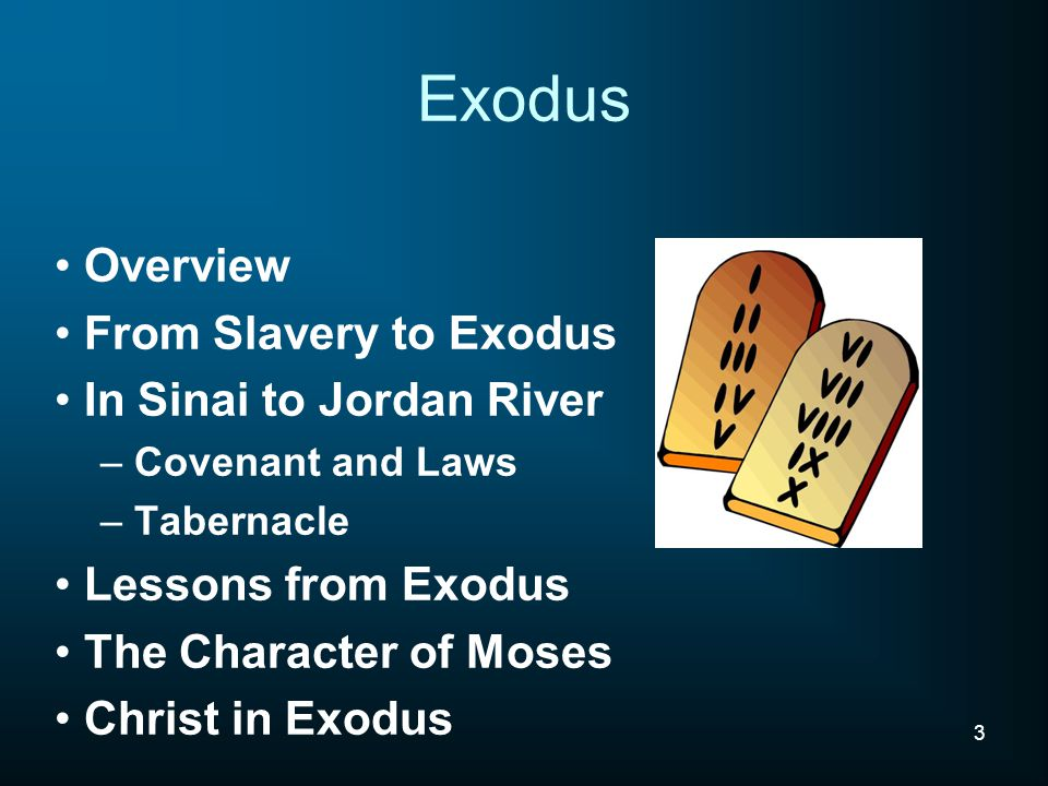 The Living Bread Exodus 16:4 ; Then the Lord said to Moses, 'behold, I will rain bread from heaven for you John 6:48-51 ; I am the bread of life.