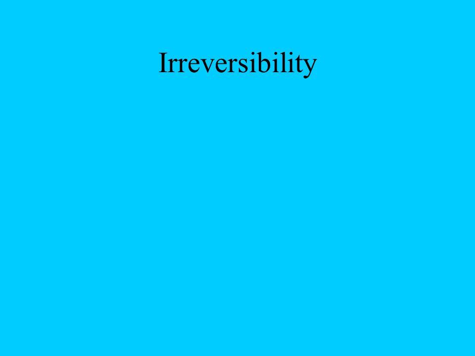 Irreversibility