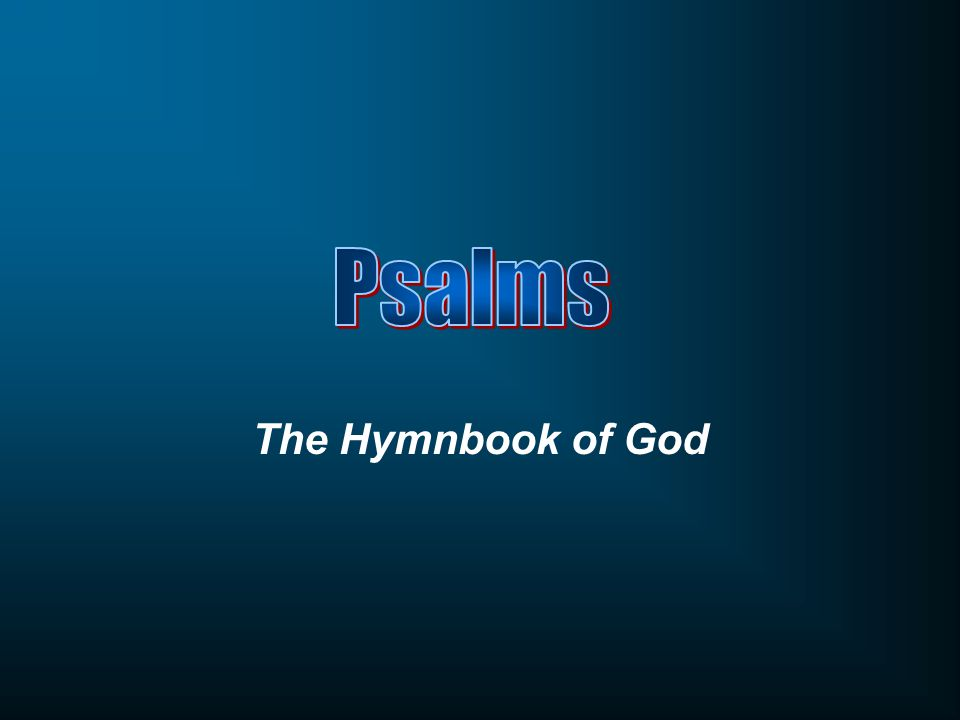 The Hymnbook of God