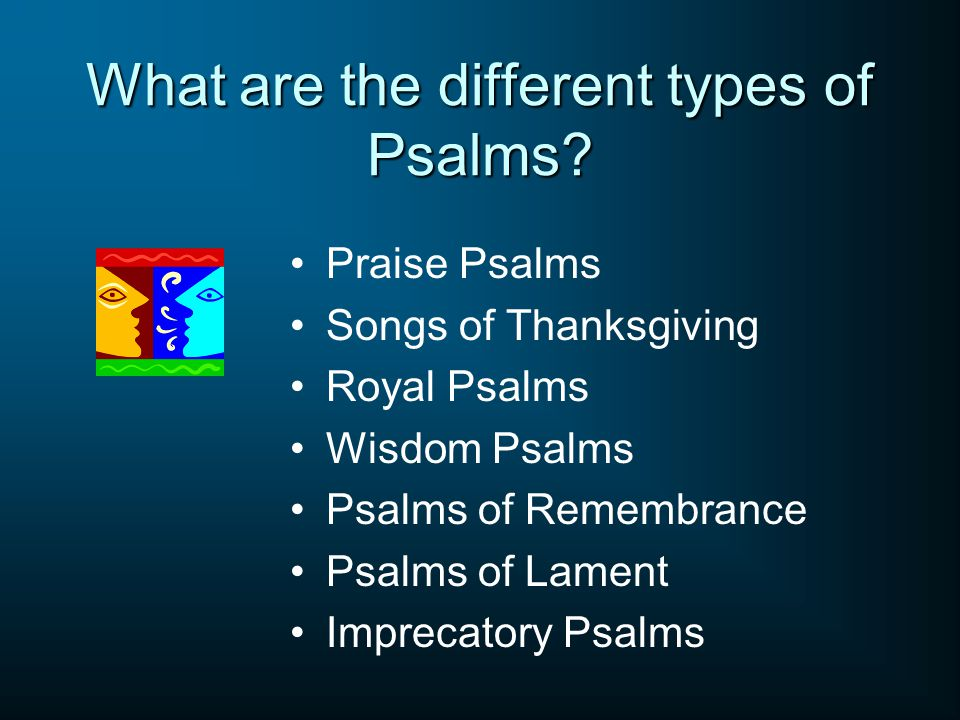 What are the different types of Psalms.