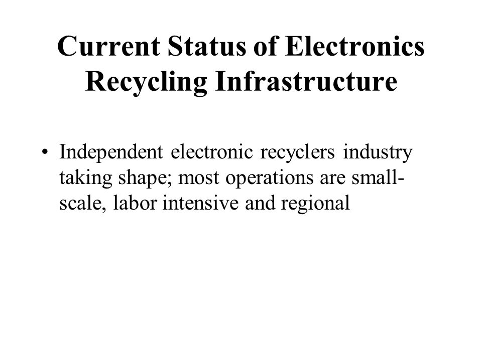Stanford Resources, 1999 Distribution of Recyclers Sampled, by Number of Employees