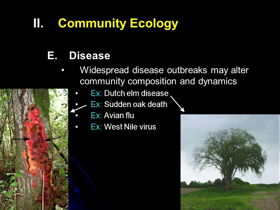 II.II.Community Ecology E.