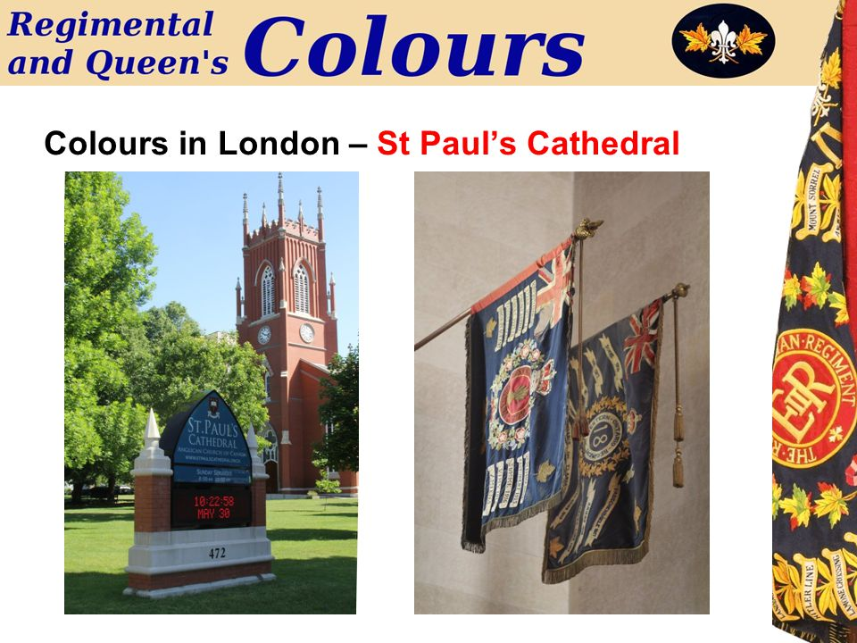 Colours in London – St Paul's Cathedral