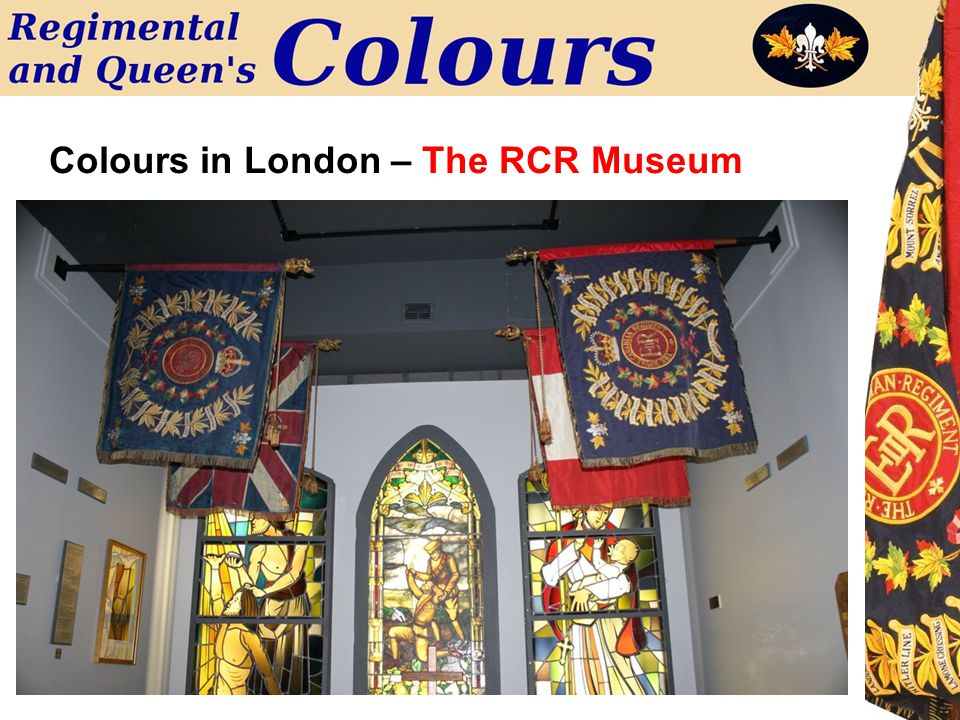 Colours in London – The RCR Museum
