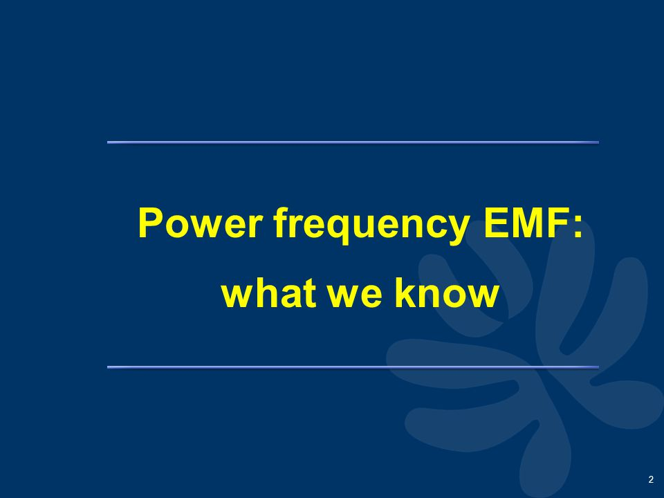 13 EMF and RFEMF: what we still must learn