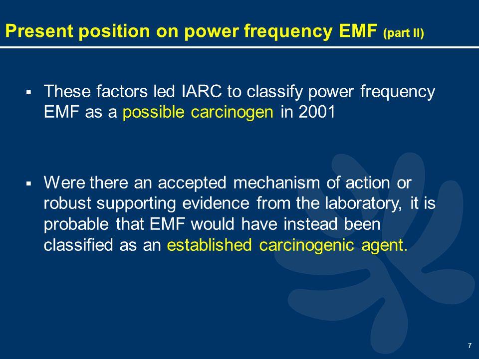 8 Radio frequency EMF (RFEMF): what we know