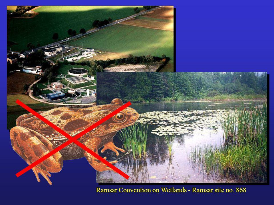 Ramsar Convention on Wetlands - Ramsar site no. 868