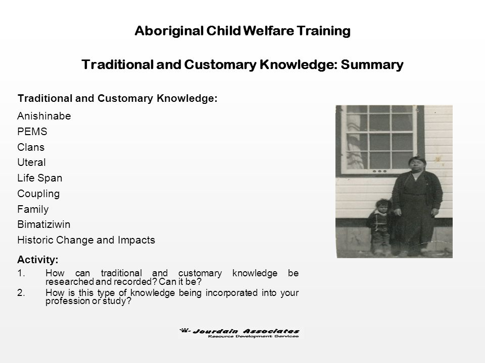 Aboriginal Child Welfare Training Psychological: mental influence and denial Physical: behavioral change and withdrawal Emotive: feelings and loyalty