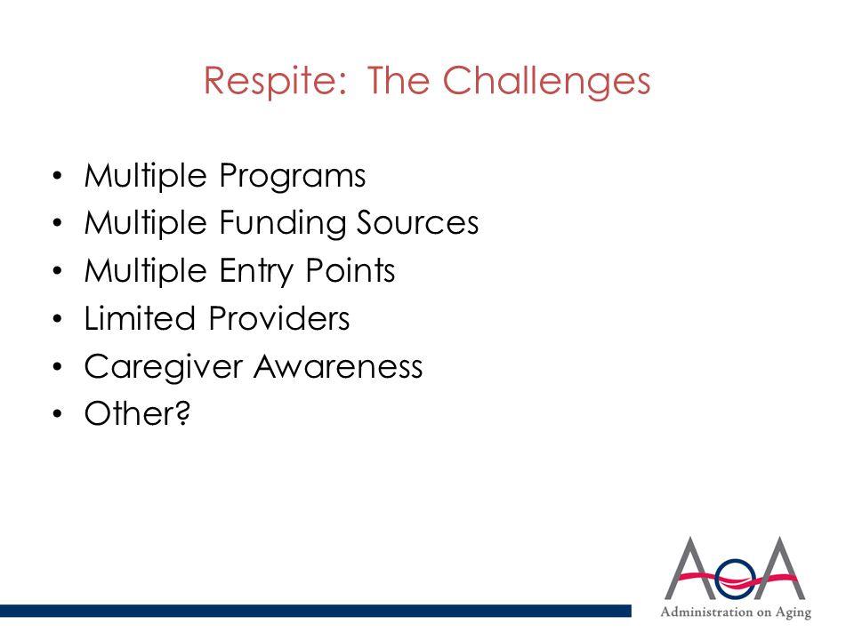 What are Lifespan Respite Care Programs.