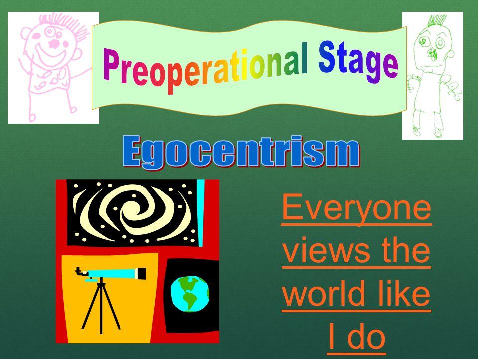 Everyone views the world like I do