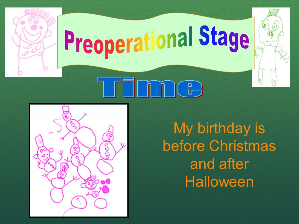 My birthday is before Christmas and after Halloween