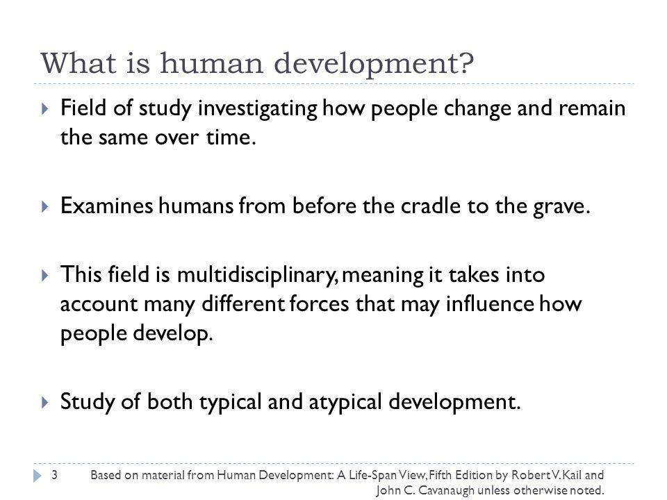 What is human development.