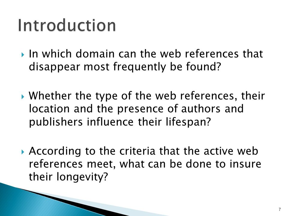  In which domain can the web references that disappear most frequently be found.