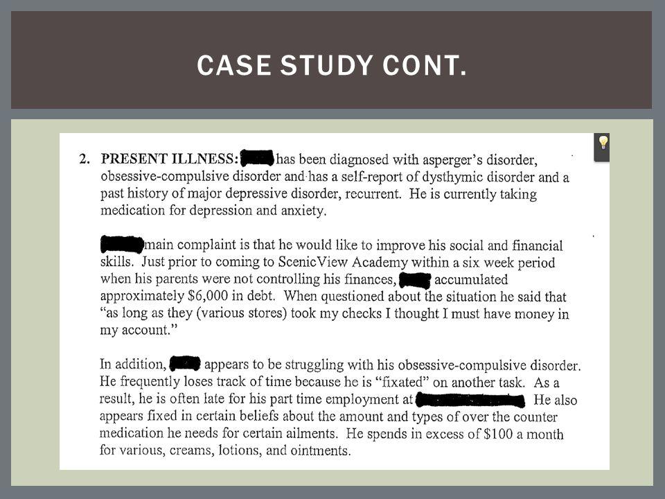 CASE STUDY CONT.
