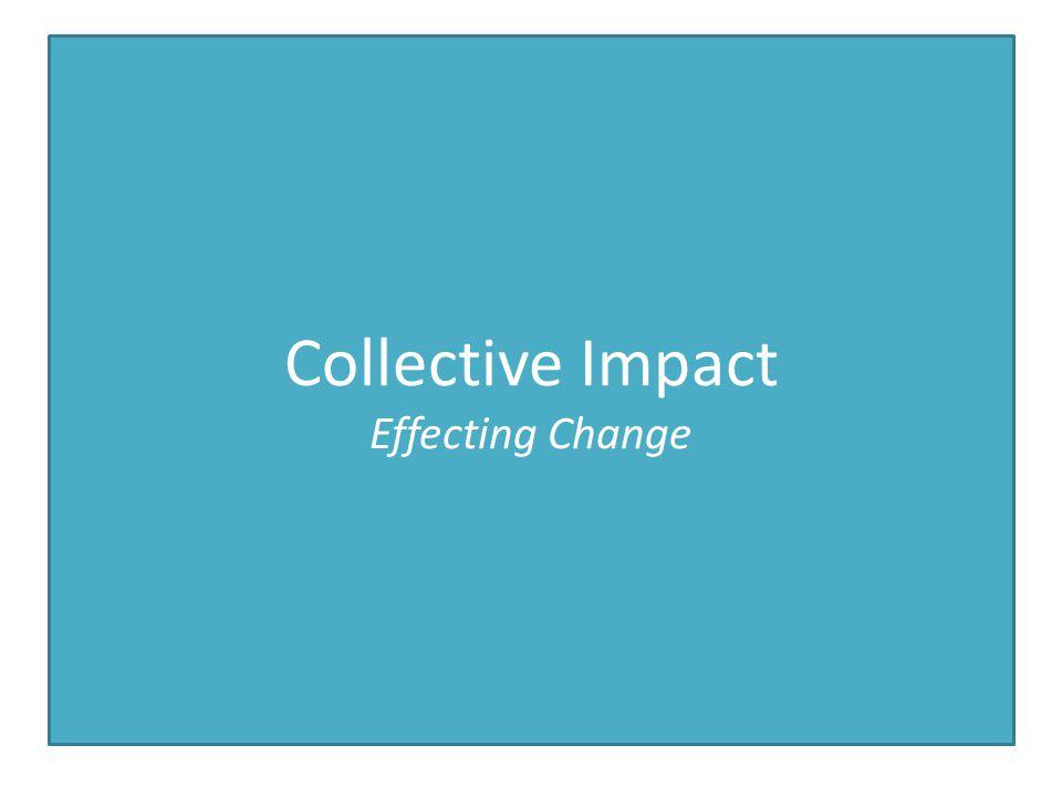 Collective Impact Effecting Change