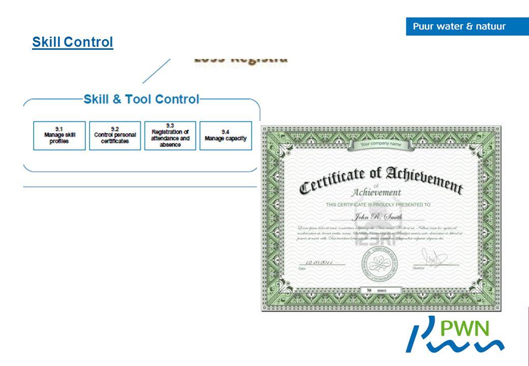 Skill Control