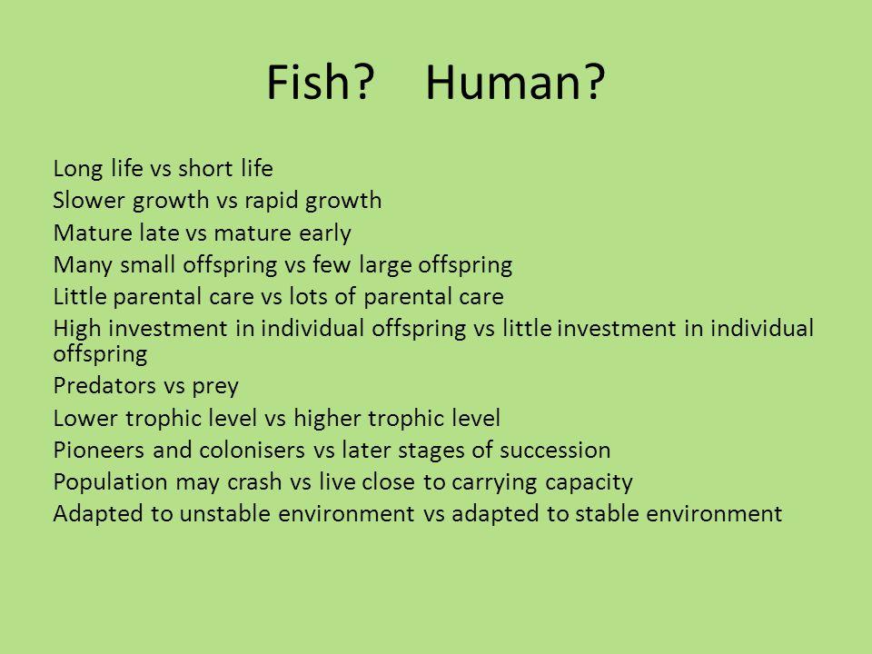 Fish. Human.
