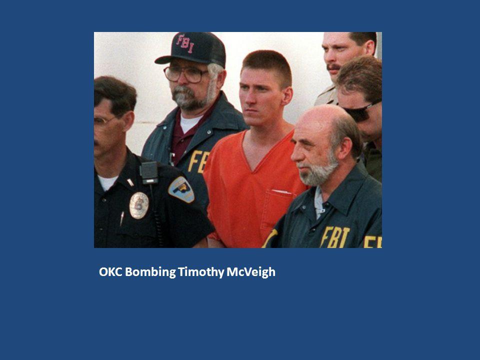 OKC Bombing Timothy McVeigh
