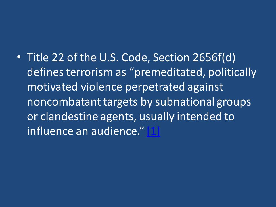 Title 22 of the U.S.