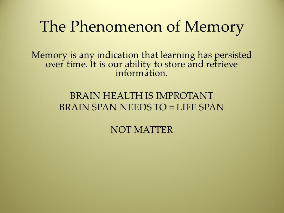 Alzheimer's –Dementia