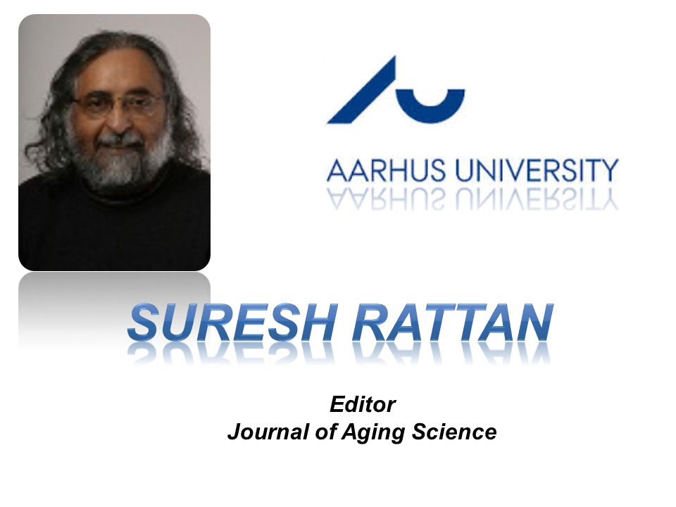 Editor Journal of Aging Science
