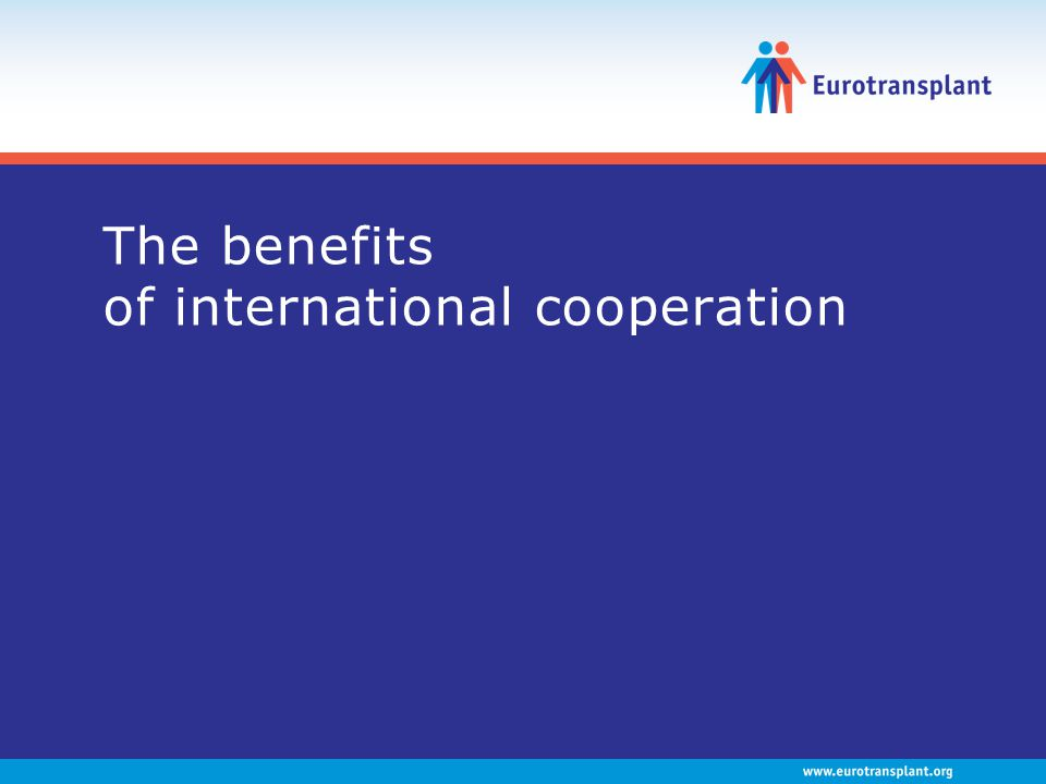 The benefits of international cooperation