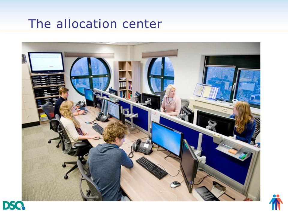 The allocation center