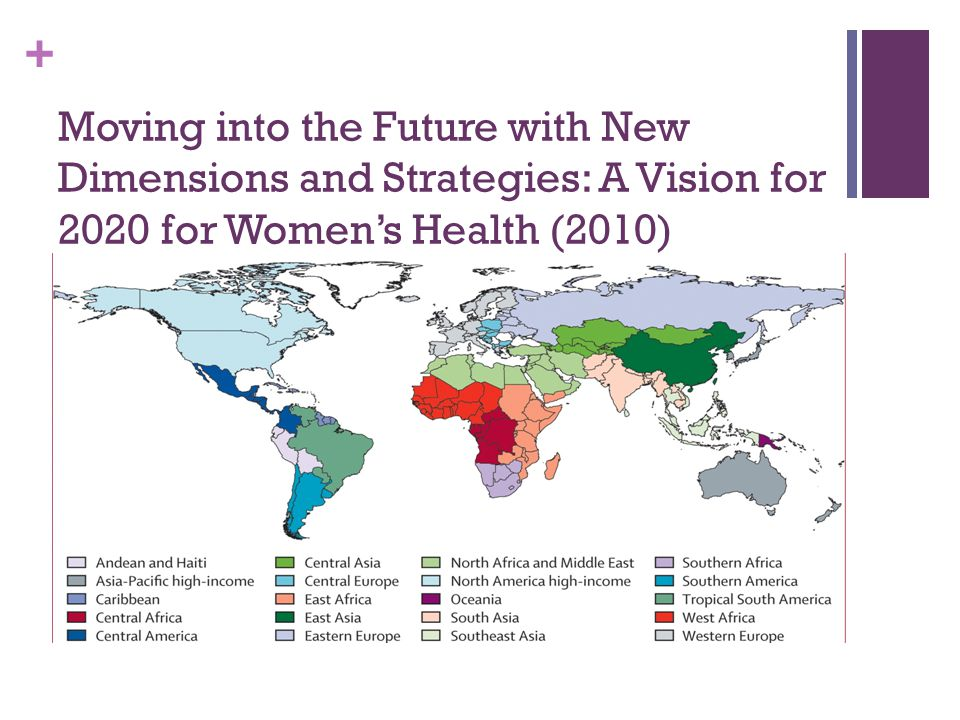 + Shaping Policy Supporting Women's Health Services
