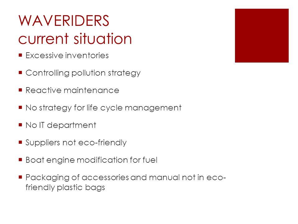 WAVERIDERS 3-year plan