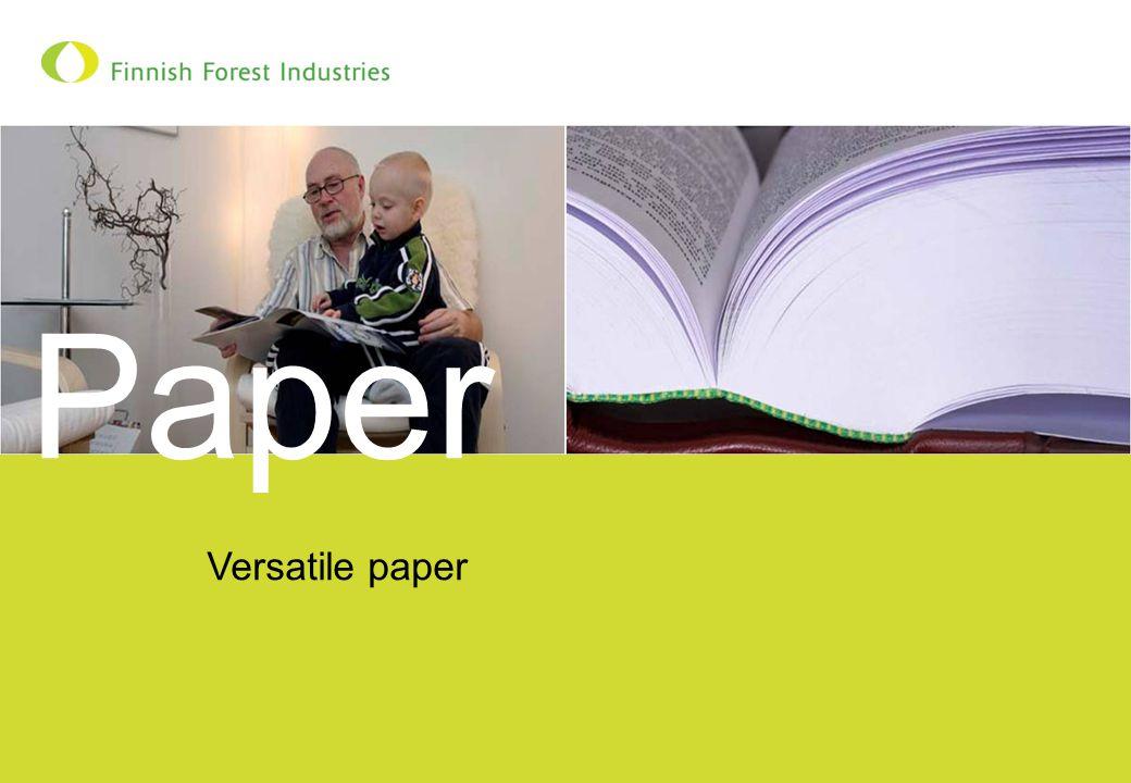 Versatile paper Paper