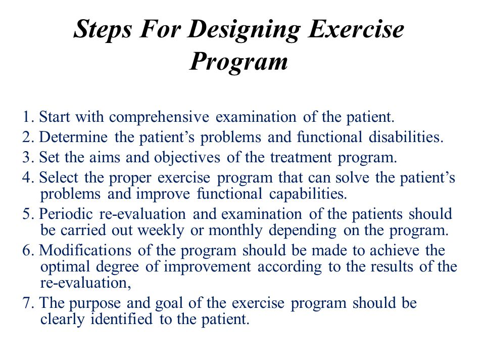 Classification of Therapeutic Exercises Therapeutic exercises are classified according to the aim and purpose of the exercises into many types: 1.