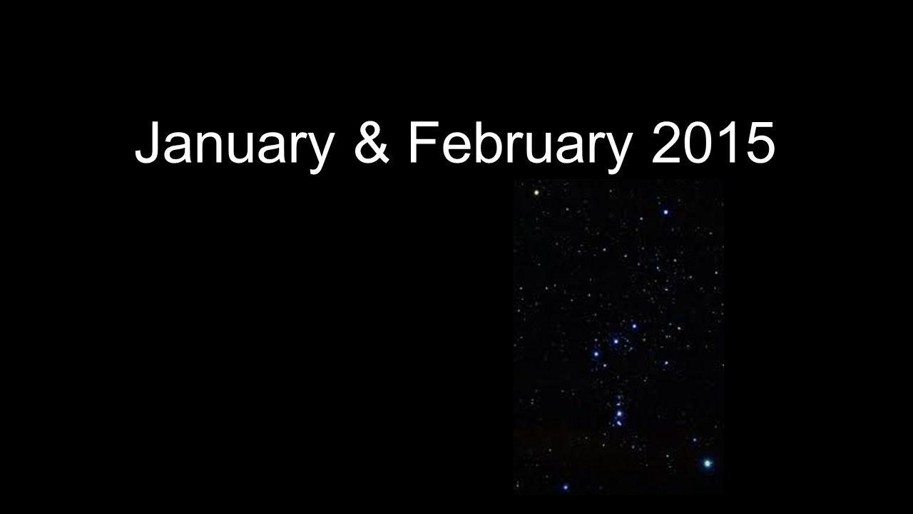January & February 2015