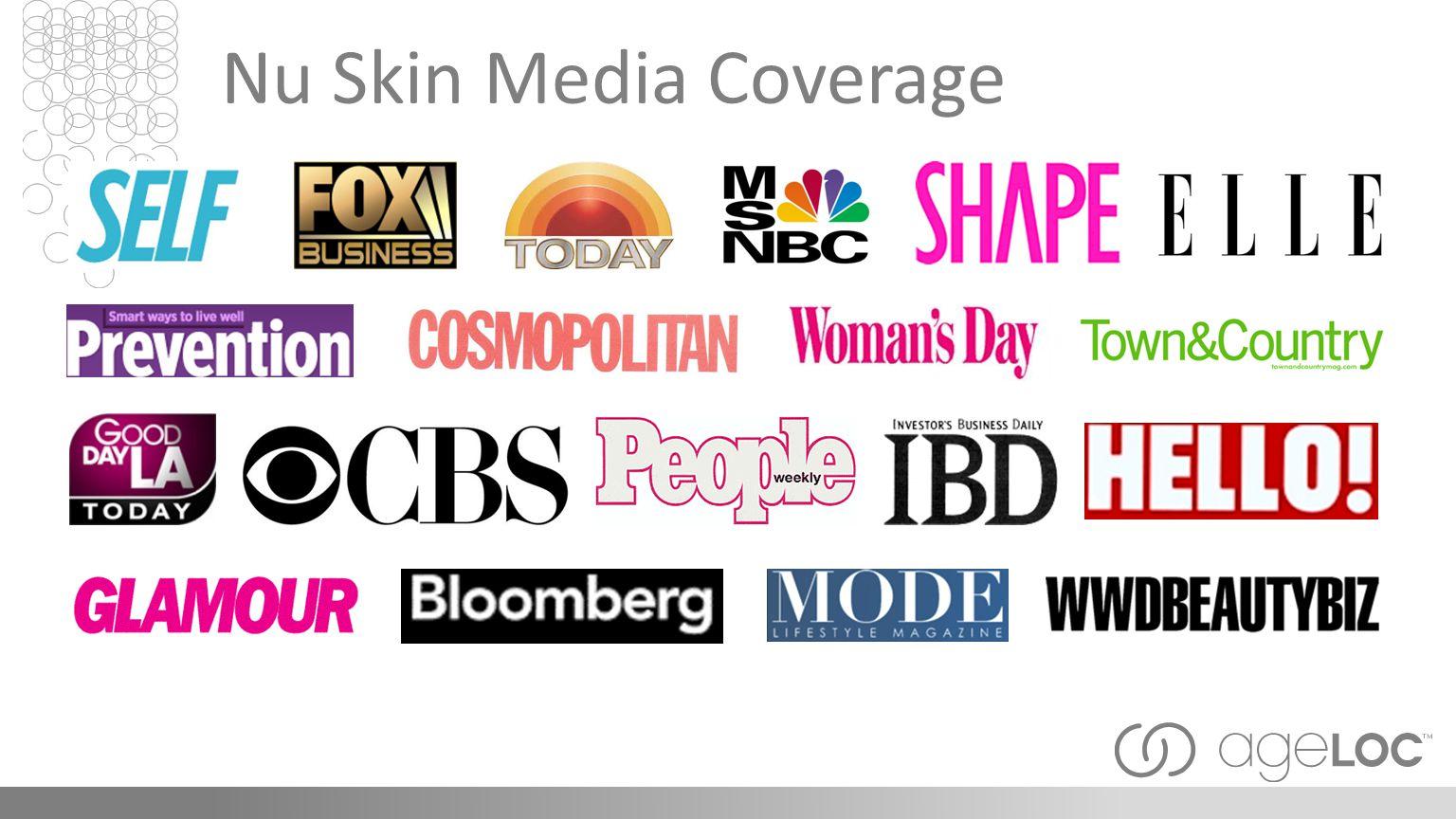 Nu Skin Media Coverage