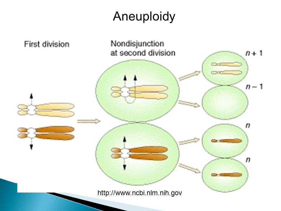 Aneuploidy http://www.ncbi.nlm.nih.gov
