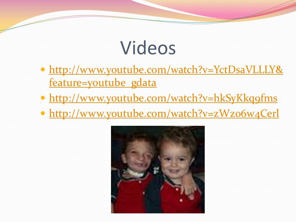 Videos http://www.youtube.com/watch?v=YctDsaVLLLY& feature=youtube_gdata http://www.youtube.com/watch?v=YctDsaVLLLY& feature=youtube_gdata http://www.
