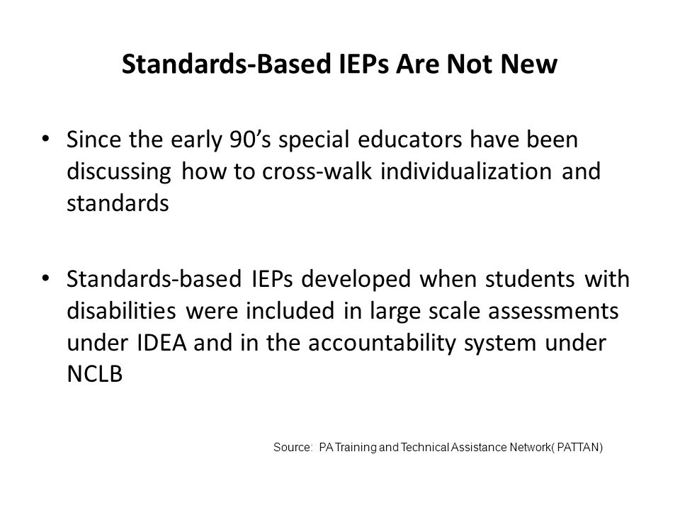 What have we learned about students with disabilities in standards-aligned systems