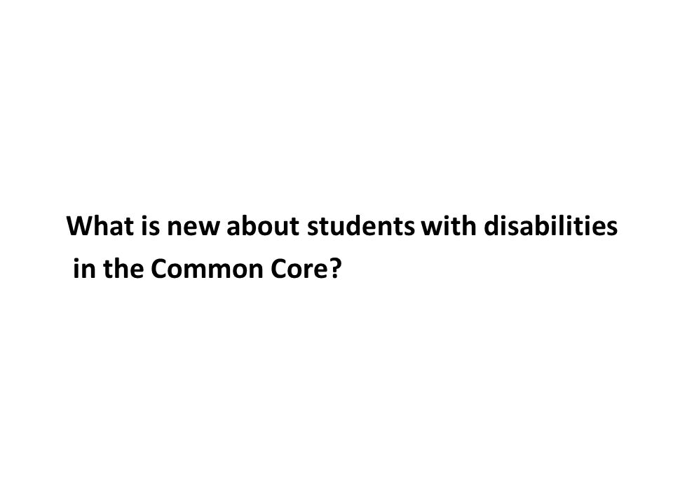 In your view, how much do you and your general education colleagues know about the CCSS?
