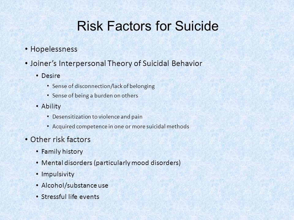 Assessing Suicidal Risk To ask, or not to ask.What to assess.