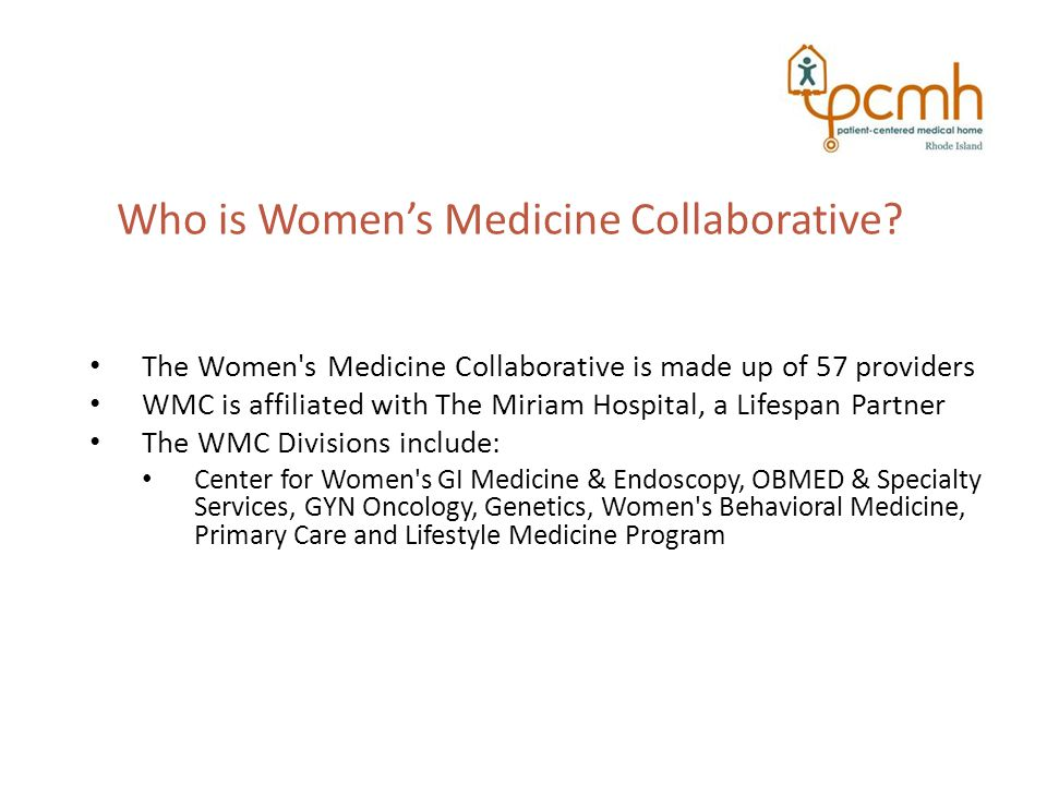 Who is Women's Medicine Collaborative.
