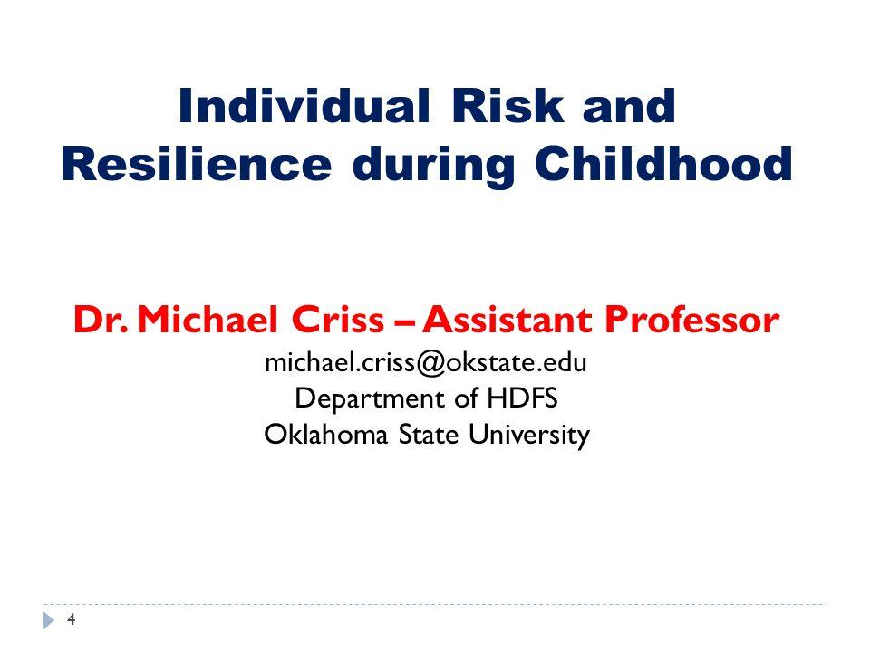 Mike Criss, Ph.D.