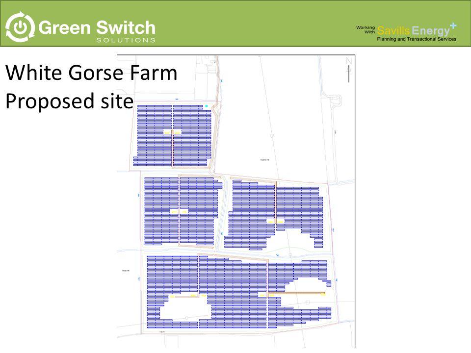 White Gorse Farm Proposed site