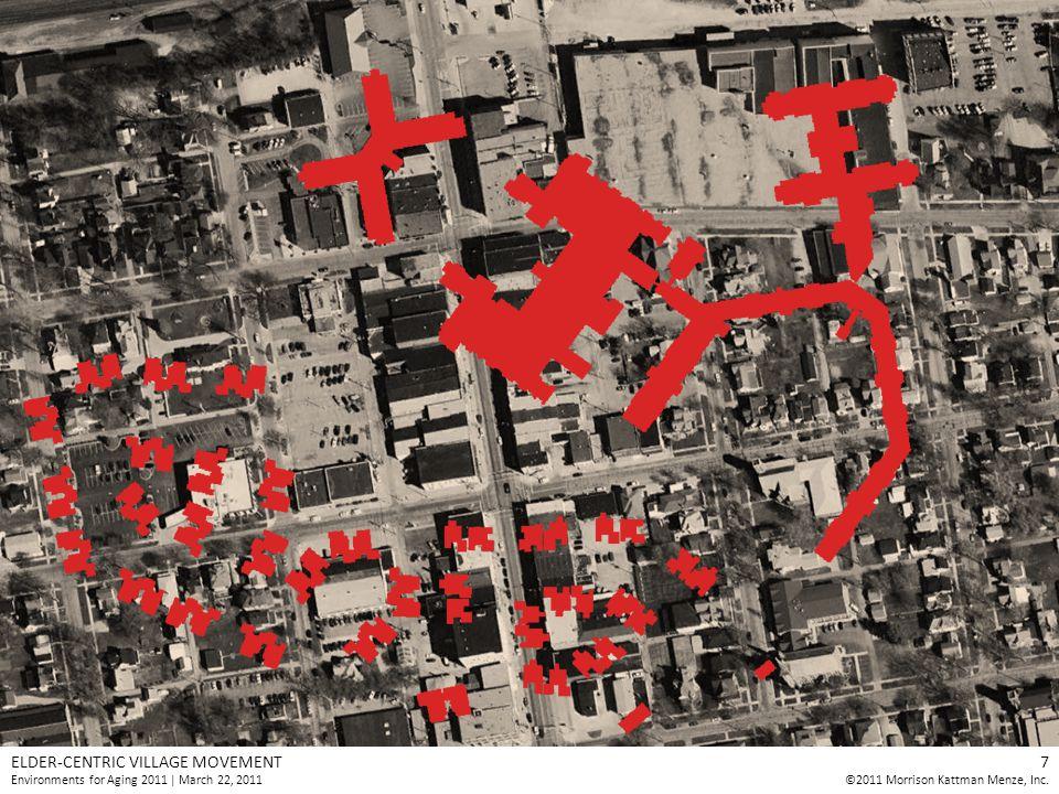 ELDER-CENTRIC VILLAGE MOVEMENT Environments for Aging 2011 | March 22, 2011 7 ©2011 Morrison Kattman Menze, Inc.